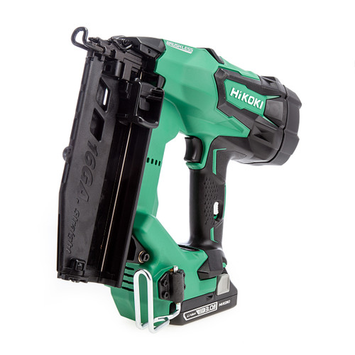 HiKOKI NT1865DM/JXZ 18V 16GA Brushless Straight Finish Nailer (2 x 3.0Ah Batteries)