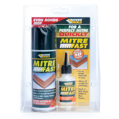 Everbuild MITRE1 Mitre Fast Bonding Kit