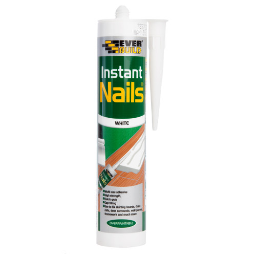 Everbuild INST Instant Nails Adhesive White 290ml