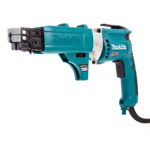 Makita FS6300JX2 Drywall Screwdriver with Autofeed in Makpac Case 110V