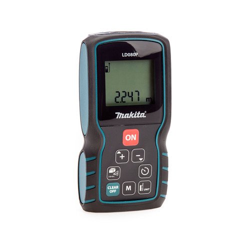 Makita LD080P 80 Metre Laser Distance Measure
