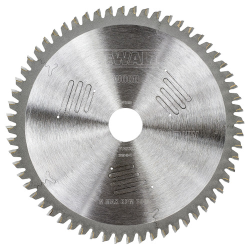 Dewalt DT4350 Extreme Workshop Saw Blade 216mm x 30mm x 60T