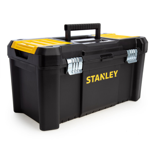 Stanley STST1-75521 Essential Toolbox 19 Inch with Metal Latches