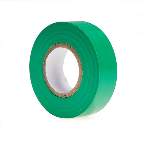 Ultratape PV01201920GR PVC Electrical Insulation Tape Green 19mm x 20m (8 Rolls)