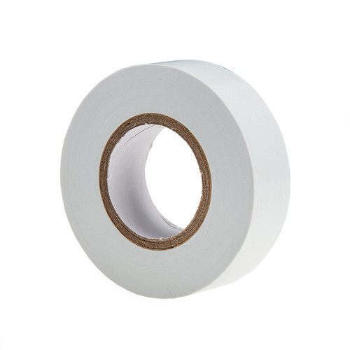 Ultratape PV01201920WH PVC Electrical Insulation Tape White 19mm x 20m (8 Rolls)