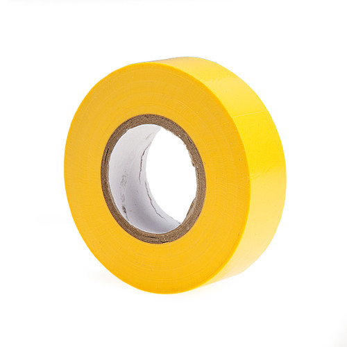 Ultratape PV01201920YE PVC Electrical Insulation Tape Yellow 19mm x 20m (8 Rolls)