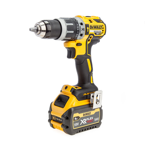 Dewalt DCD796T1T 18V XR Brushless Combi Drill (1 x 6.0Ah Battery)