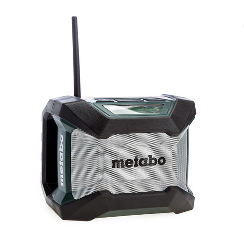 Metabo 600777380 R12-18 Bluetooth Cordless Worksite Radio