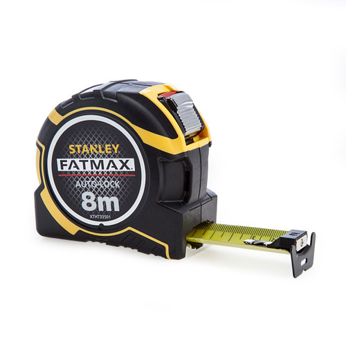 Stanley XTHT0-33501 Fatmax Autolock Tape 8m / 26ft