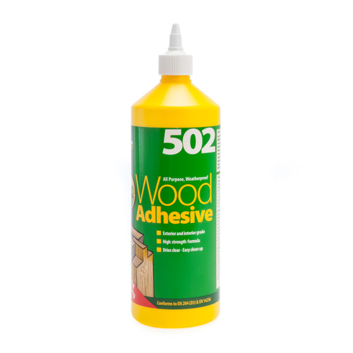 Everbuild 5021L All Purpose Wood Adhesive Glue (1 Litre)