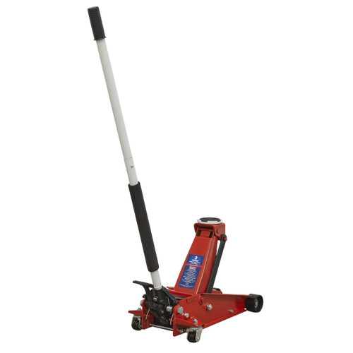 Sealey 3001CXP Trolley Jack 3tonne with Foot Pedal