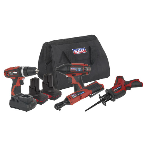 Sealey CP1200COMBO3 CP1200 4 Piece Kit
