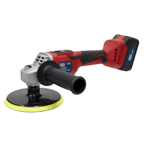 Sealey CP18VRP 18V Cordless Rotary Polisher 150mm (1 x 4Ah Battery)