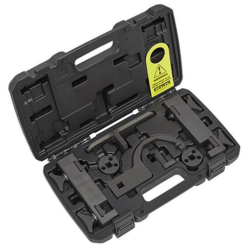 Sealey VSE3445 Petrol Engine Timing Tool Kit - Jaguar, Land Rover 5.0 - Chain Drive