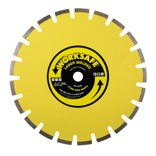 Sealey WDHFS350 Floor Saw Blade (Hard) 350 x 25mm