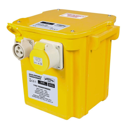 Sealey WST5000 Portable Transformer 5kVA