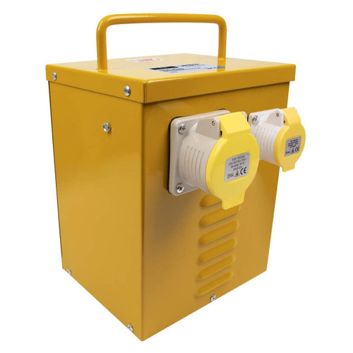 Sealey WST5000MV/2 5kVA Portable Vented Transformer 16/32A Outlets