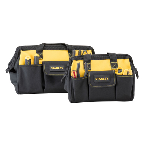 "Stanley STST1-81319 12"" + 16"" Multipocket Toolbags (2 Piece)"