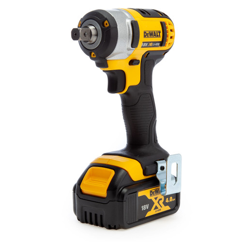 Dewalt DCF880M2-NC 18V XR Compact Impact Wrench (2 x 4.0Ah Batteries) - No Charger