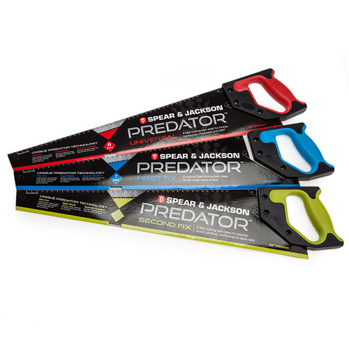 Spear & Jackson Predator First/Second Fix Handsaw Triple Pack 1