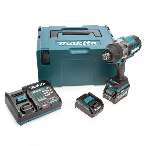Makita TW001GD102 40Vmax XGT Brushless Impact Wrench (1 x 2.5Ah Battery) 3