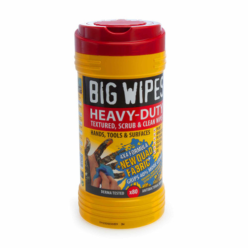 Big Wipes 4X4 Heavy Duty Textured Wipes