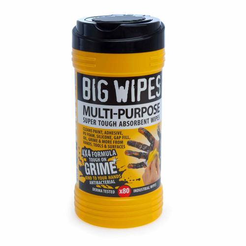 Big Wipes 4X4 Multi Purpose Super Tough Absorbant Wipes