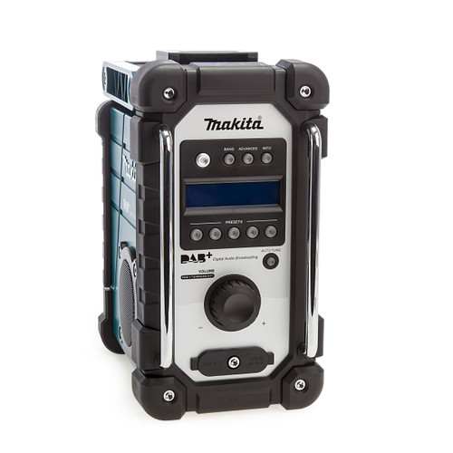 Makita DMR110 DAB/DAB+ 7.2-18V Jobsite Radio Blue (Body Only) 1