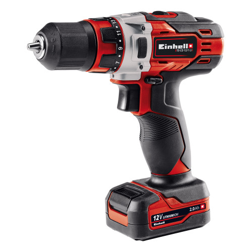 Einhell (45.135.90) TE-CD12/1LI 12V Drill Driver (1 x 2.0Ah Battery)