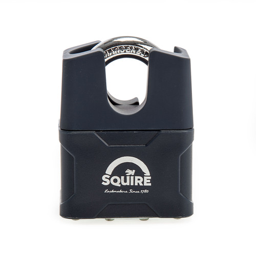 Henry Squire 39CS Closed Shackle Laminated Double Locking Padlock 50mm