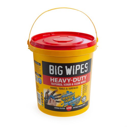 Big Wipes 4X4 Heavy Duty Textured Scrub & Clean Industrial Wipes