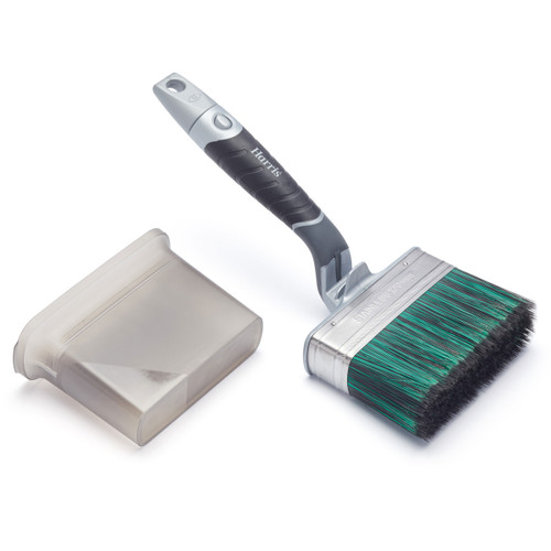 Harris 103031102 Ultimate Shed & Fence Swan Neck Paint Brush 120mm 2