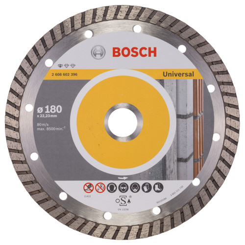 Bosch 2608602396 Standard For Universal Turbo Diamond Cutting Disc 180mm