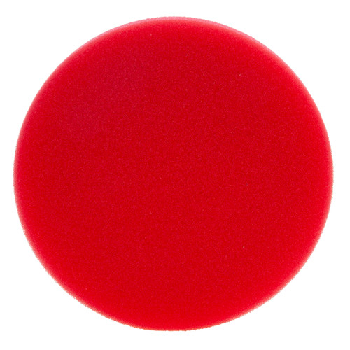 Flex PS-R 140 Red Very Soft Velcro Polishing Sponge 140mm
