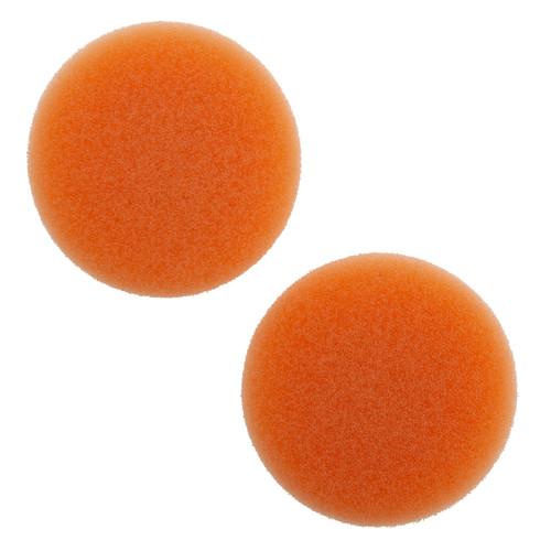 Flex PS-0 60 Orange Medium Velcro Polishing Sponge 60mm