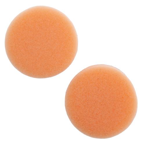 Flex PS-0 40 Orange Medium Velcro Polishing Sponge 40mm
