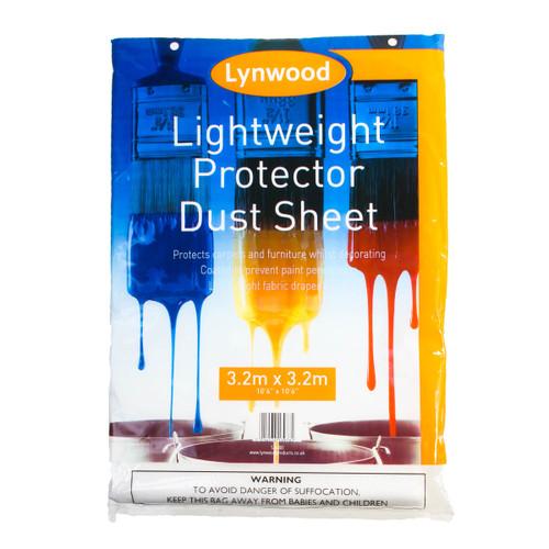 Lynwood SH400 Lightweight Protector Dust Sheet 3.2 x 3.2m 1