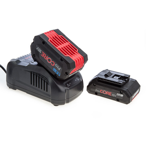 Bosch 1600A01BA9 ProCORE 18V Battery and Charger Starter Set (1 x 4.0Ah + 1 x 8.0Ah) 1