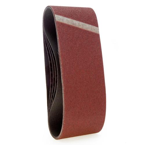 Makita P-37116 Sanding Belts 76 x 457mm 80 Grit (Pack Of 5)