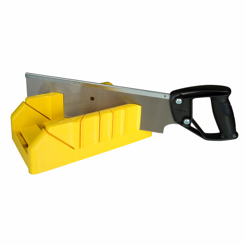 Stanley 1-19-800 Saw Storage Mitre Box with Saw