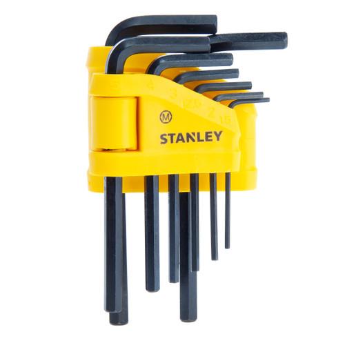 Stanley 0-69-251 Metric Hex Key Set 8 Piece (1.5 - 6mm)