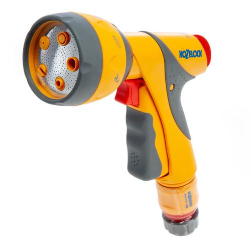 Hozelock 2684 8 Multi Spray Plus Gun with Connector - 6 Settings