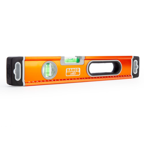 "Bahco 400mm / 16"" Aluminium Spirit Level 2 Vials (466-400)"