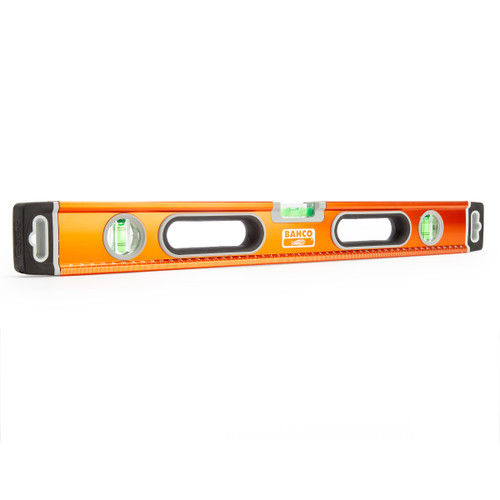 "Bahco 600mm / 24"" Aluminium Spirit Level 3 Vials (466-600)"