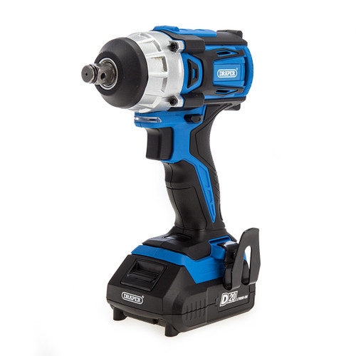"Draper 55343 D20 20V 1/2"" Impact Wrench (2 x 2.0Ah Batteries) 1"