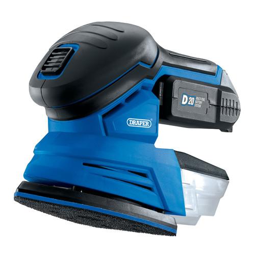Draper 00608 D20 20V 135mm Detail Sander