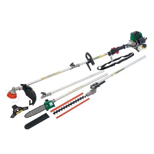 Draper 84706 4 in 1 Petrol Garden Tool - Grass Trimmer/Hedgecutter 32.5cc