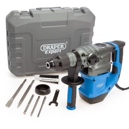 Draper 56405 SDS Plus Rotary Hammer Drill with Accessories (240V) 2