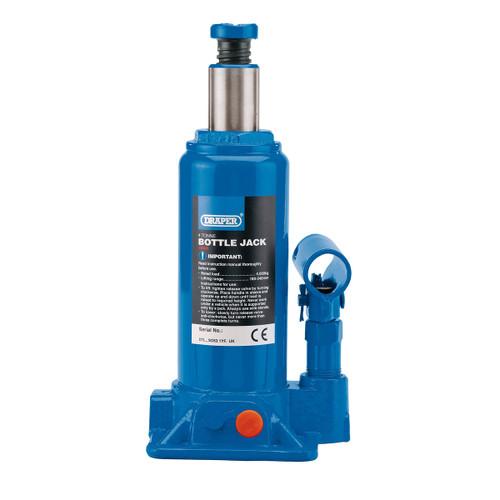 Draper 13066 Hydraulic Bottle Jack 4 Tonne