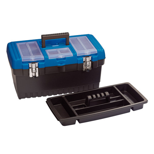Draper 53880 Tool Box with Tote Tray 486mm